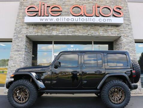 2021 Jeep Wrangler Unlimited for sale at Elite Autos LLC in Jonesboro AR