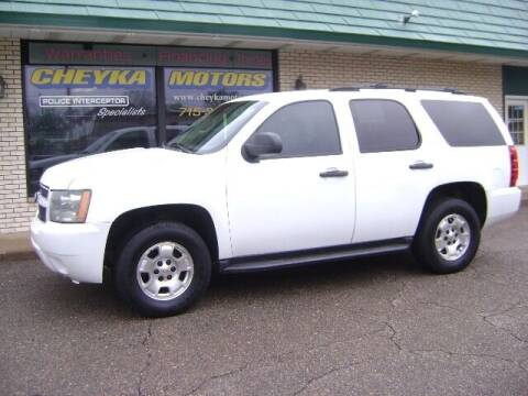 2010 Chevrolet Tahoe for sale at Cheyka Motors in Schofield WI