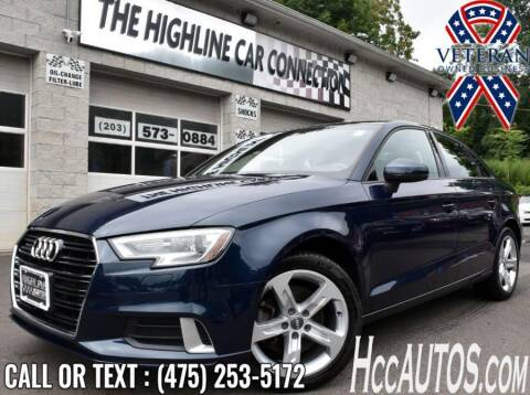 2018 Audi A3 for sale at The Highline Car Connection in Waterbury CT