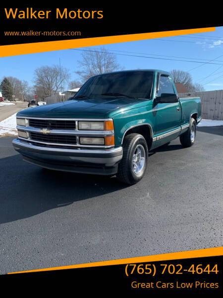 1997 Chevrolet C/K 1500 Series for sale at Walker Motors in Muncie IN