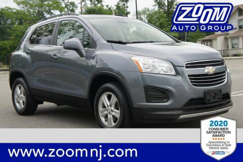 2015 Chevrolet Trax for sale at Zoom Auto Group in Parsippany NJ