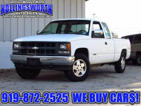 1994 Chevrolet C/K 1500 Series for sale at Hollingsworth Auto Sales in Raleigh NC