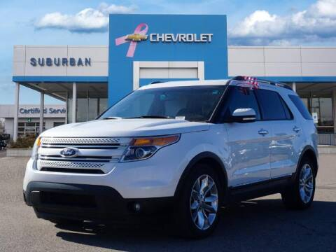 2014 Ford Explorer for sale at Suburban Chevrolet of Ann Arbor in Ann Arbor MI