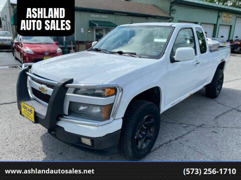 2011 Chevrolet Colorado for sale at ASHLAND AUTO SALES in Columbia MO