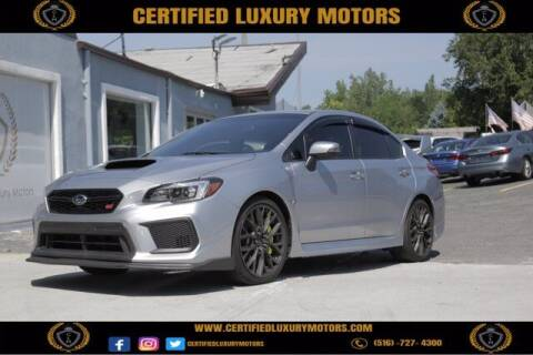 2019 Subaru WRX for sale at Certified Luxury Motors in Great Neck NY