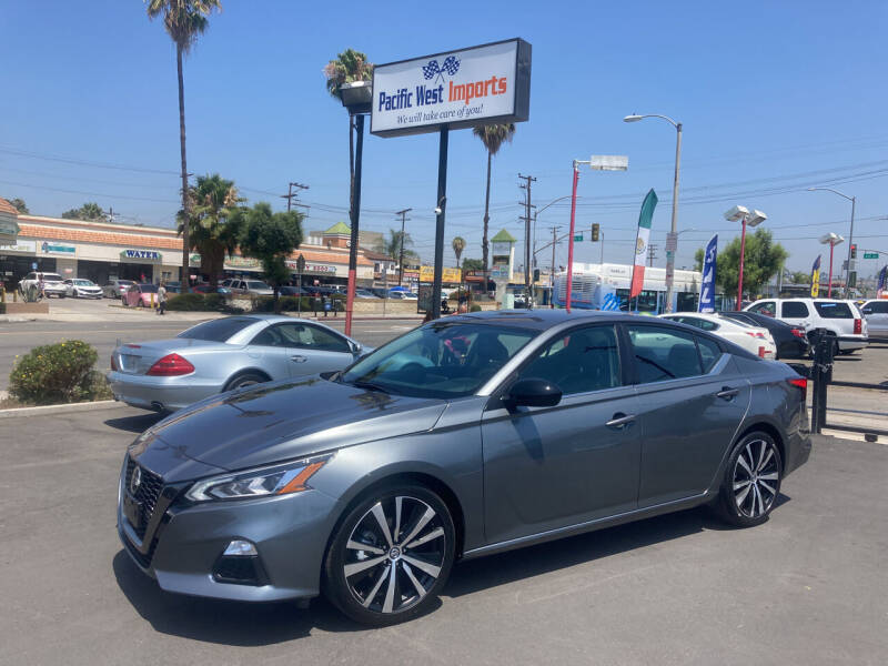 2021 Nissan Altima for sale at Pacific West Imports in Los Angeles CA