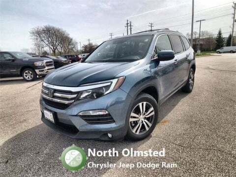 2017 Honda Pilot for sale at North Olmsted Chrysler Jeep Dodge Ram in North Olmsted OH