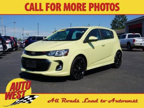 2017 Chevrolet Sonic for sale at Autowest of Plainwell in Plainwell MI