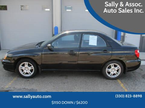 2005 Subaru Impreza for sale at Sally & Assoc. Auto Sales Inc. in Alliance OH