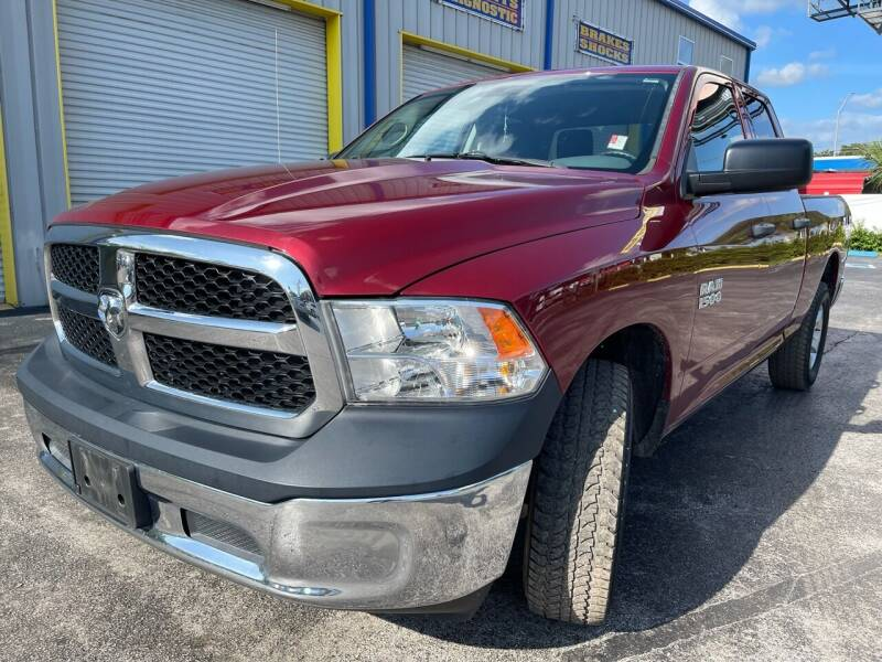2013 RAM Ram Pickup 1500 for sale at RoMicco Cars and Trucks in Tampa FL