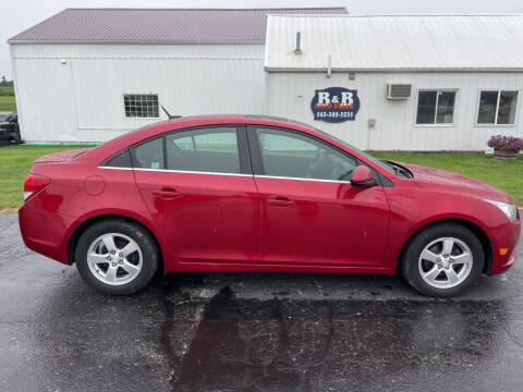 2012 Chevrolet Cruze for sale at B & B Sales 1 in Decorah IA