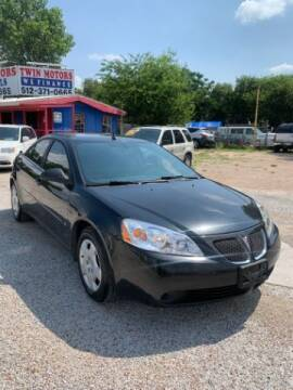 2008 Pontiac G6 for sale at Twin Motors in Austin TX