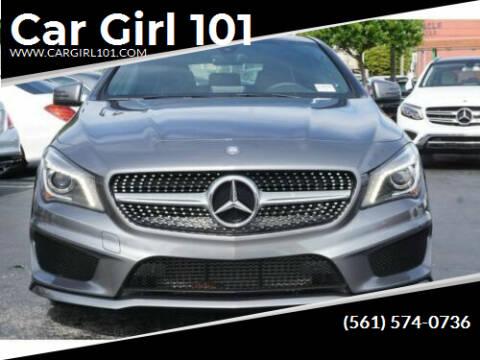 2016 Mercedes-Benz CLA for sale at Car Girl 101 in Oakland Park FL