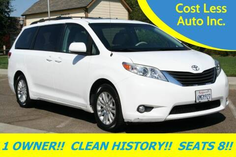 2011 Toyota Sienna for sale at Cost Less Auto Inc. in Rocklin CA