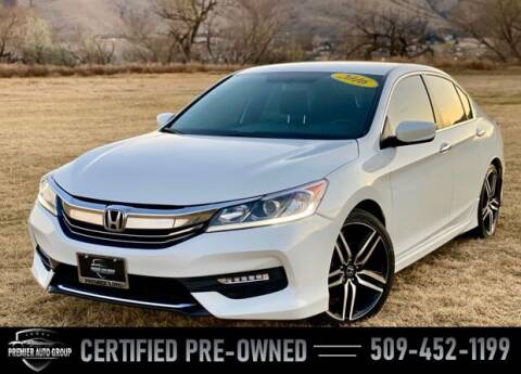 2016 Honda Accord for sale at Premier Auto Group in Union Gap WA