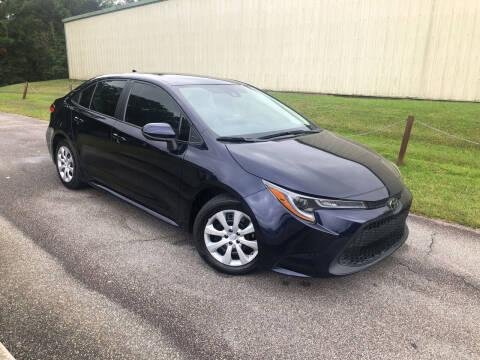 2020 Toyota Corolla for sale at J. MARTIN AUTO in Richmond Hill GA