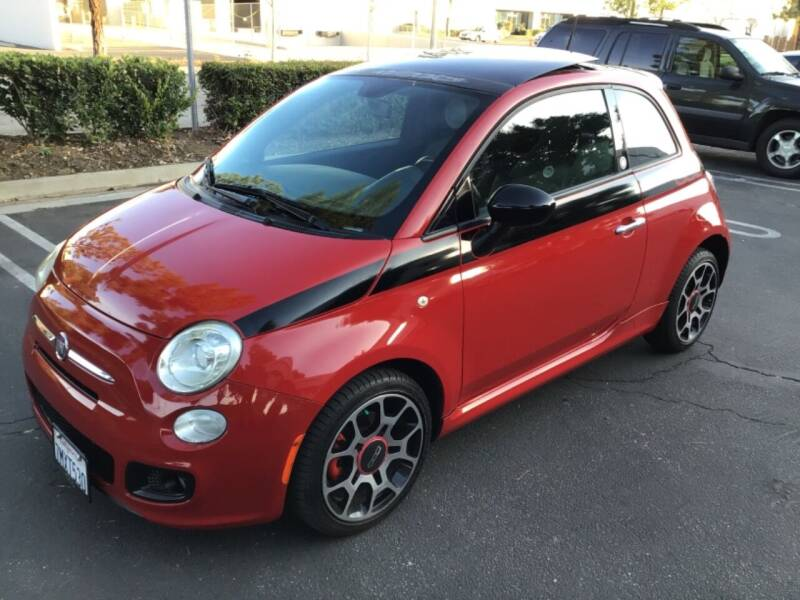 2012 FIAT 500 for sale at Tri City Auto Sales in Whittier CA