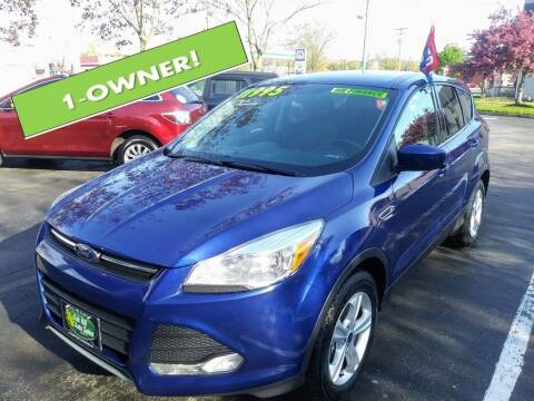 2014 Ford Escape for sale at Oak Hill Auto Sales of Wooster, LLC in Wooster OH