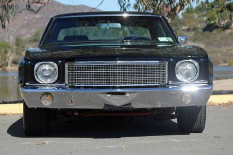 1970 Chevrolet Monte Carlo for sale at Precious Metals in San Diego CA