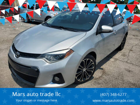 2015 Toyota Corolla for sale at Mars auto trade llc in Kissimmee FL