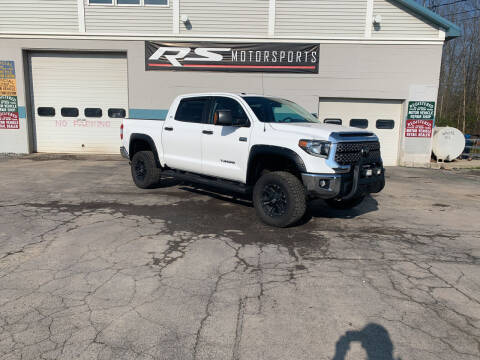 2018 Toyota Tundra for sale at RS Motorsports, Inc. in Canandaigua NY