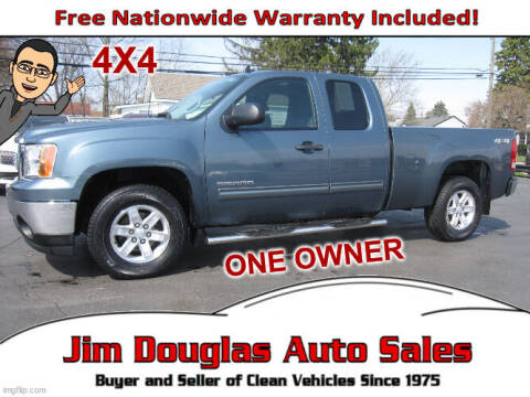 2011 GMC Sierra 1500 for sale at Jim Douglas Auto Sales in Pontiac MI
