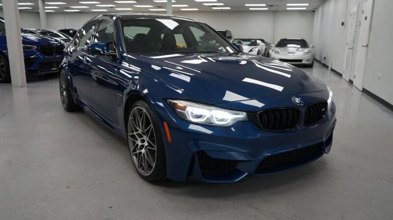 2018 BMW M3 for sale at SZ Motorcars in Woodbury NY