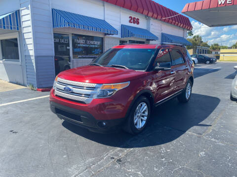 2015 Ford Explorer for sale at Riviera Auto Sales South in Daytona Beach FL