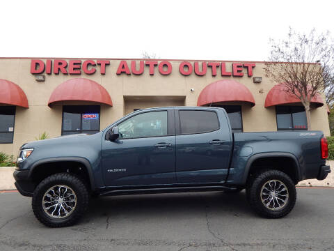 2019 Chevrolet Colorado for sale at Direct Auto Outlet LLC in Fair Oaks CA