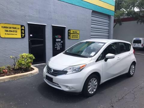 2016 Nissan Versa Note for sale at FLORIDA CAR TRADE LLC in Davie FL