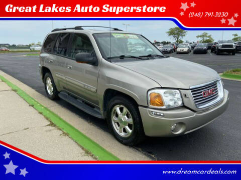 2003 GMC Envoy for sale at Great Lakes Auto Superstore in Waterford Township MI