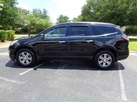2016 Chevrolet Traverse for sale at BALKCUM AUTO INC in Wilmington NC