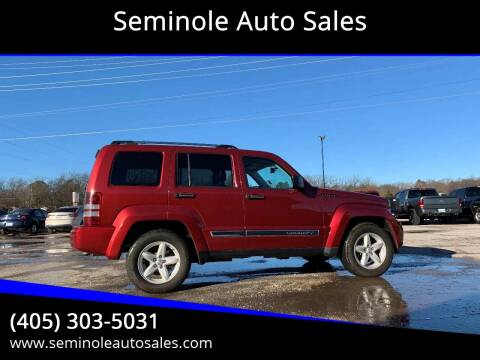 2012 Jeep Liberty for sale at Seminole Auto Sales in Seminole OK