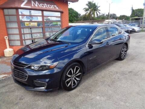 2017 Chevrolet Malibu for sale at Z MOTORS INC in Hollywood FL