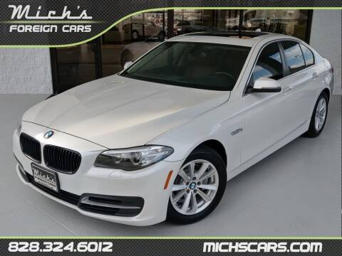2014 BMW 5 Series for sale at Mich's Foreign Cars in Hickory NC