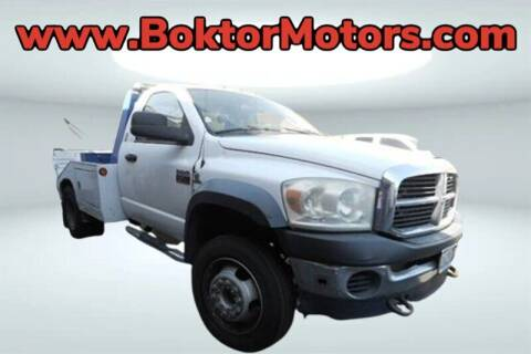 2008 Dodge Ram Chassis 4500 for sale at Boktor Motors in North Hollywood CA