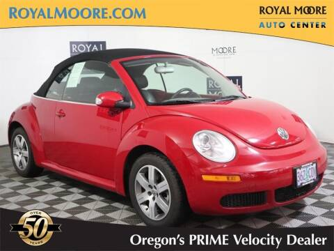 2006 Volkswagen New Beetle Convertible for sale at Royal Moore Custom Finance in Hillsboro OR