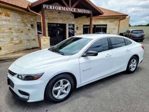 2016 Chevrolet Malibu for sale at Performance Motors Killeen Second Chance in Killeen TX