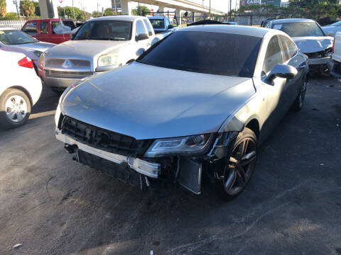 2012 Audi A7 for sale at Auction Direct Plus in Miami FL