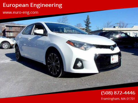 2014 Toyota Corolla for sale at European Engineering in Framingham MA