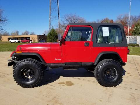 1994 Jeep Wrangler for sale at Lease Car Sales 3 in Warrensville Heights OH