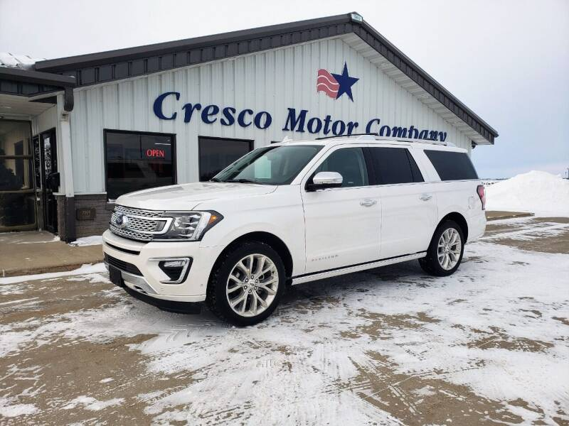 2019 Ford Expedition MAX for sale at Cresco Motor Company in Cresco IA