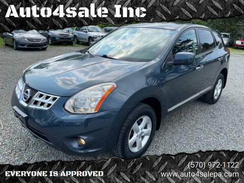 2013 Nissan Rogue for sale at Auto4sale Inc in Mount Pocono PA