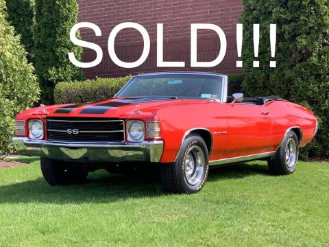 1971 Chevrolet Chevelle Malibu for sale at Classic Auto Haus in Geneva IL