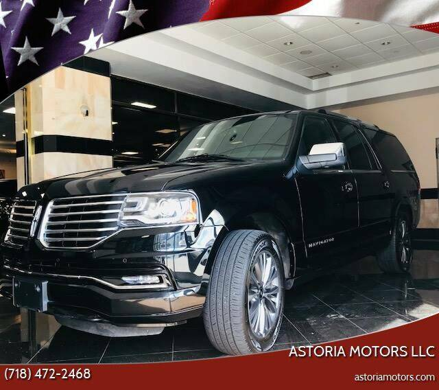 2017 Lincoln Navigator L for sale at Astoria Motors LLC in Long Island City NY