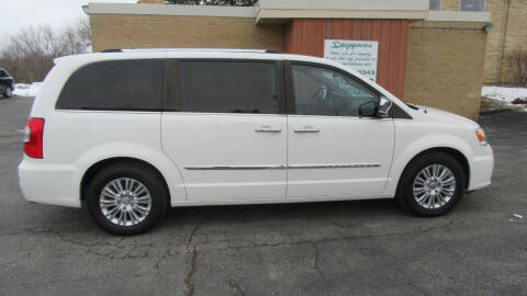 2012 Chrysler Town and Country for sale at LENTZ USED VEHICLES INC in Waldo WI