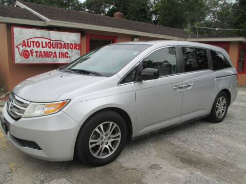 2012 Honda Odyssey for sale at Auto Liquidators of Tampa in Tampa FL