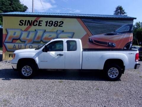 2013 GMC Sierra 3500HD for sale at Pyles Auto Sales in Kittanning PA