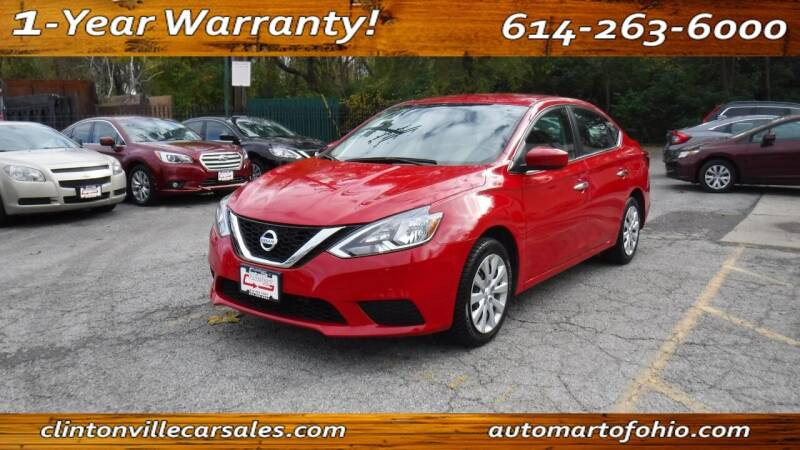2017 Nissan Sentra for sale at Clintonville Car Sales - AutoMart of Ohio in Columbus OH