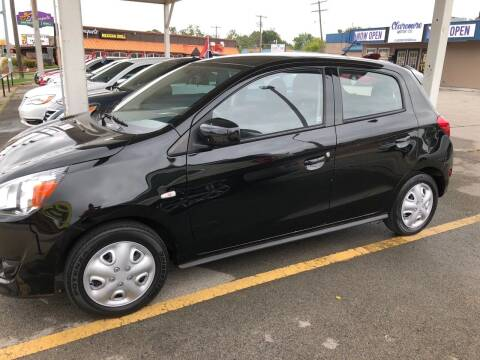 2015 Mitsubishi Mirage for sale at Claremore Motor Company in Claremore OK